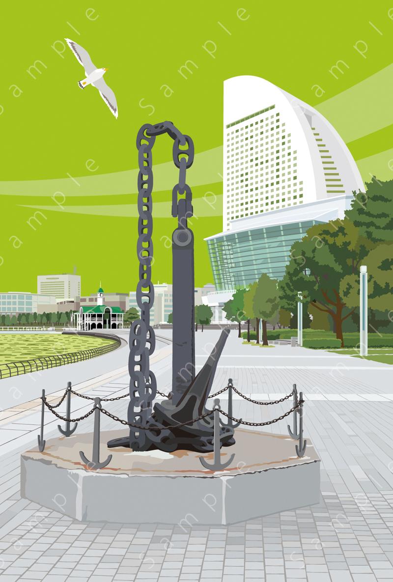image of 鎖のモニュメント